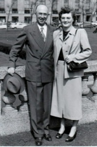 Judy Wills Mother and father