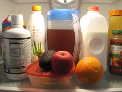 colors of the fridge