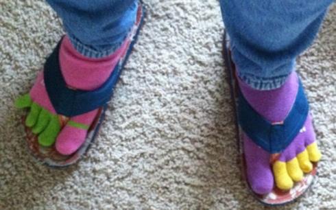 feet in socks copy