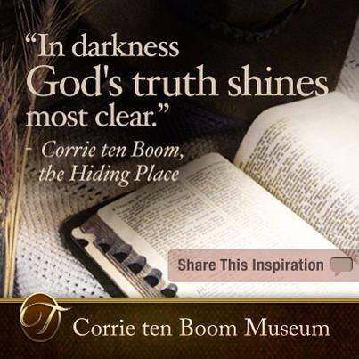 Corrie In Darkness God's Love shines