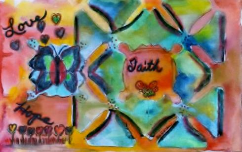 DiVoran Painting Faith Love