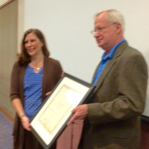 Beck and Ned Keller  Award