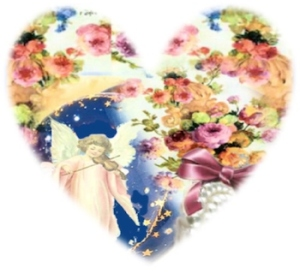 Angel Violin Heart