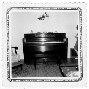 1952-Our new piano