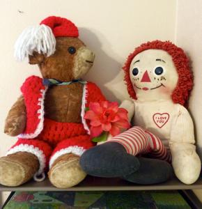 Teddy and Rageddy Ann