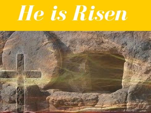 He is risen 2016