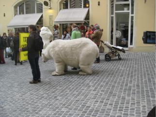 Greenpeace was making a statement