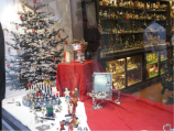 A Christmas store