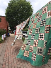 blowing quilts