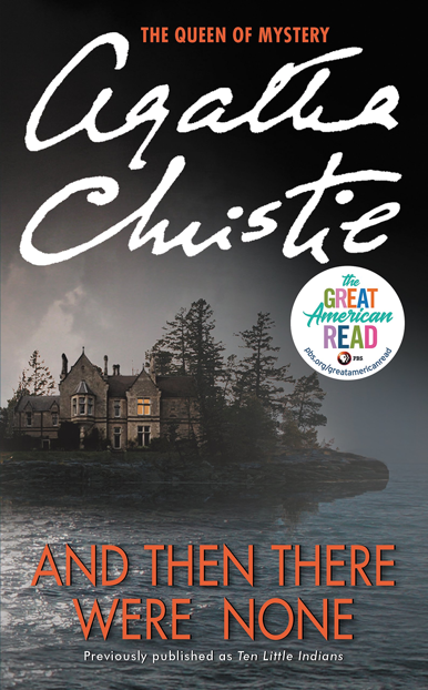 Image result for agatha christie books and then there were none