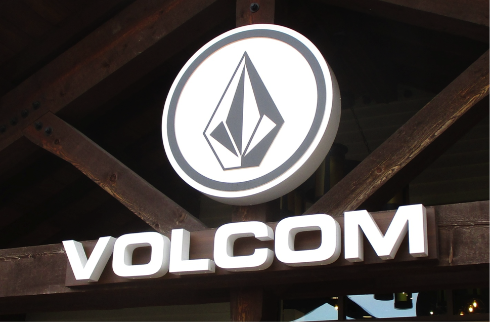 Description: Volcom sign