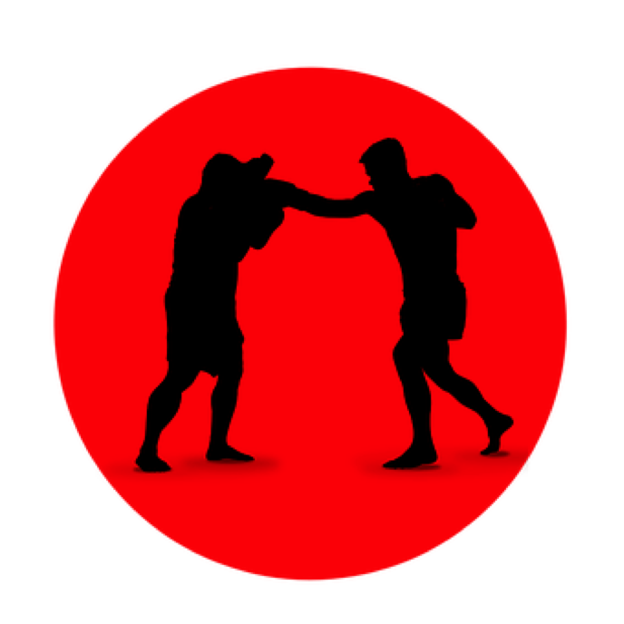 Description: Boxing, Icon, Silhouette, Sport, Fighter
