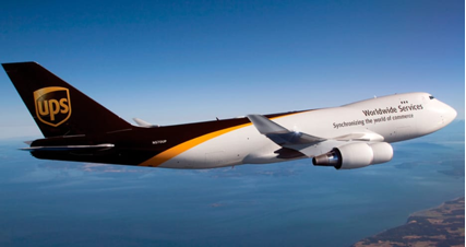 Image result for ups airplane