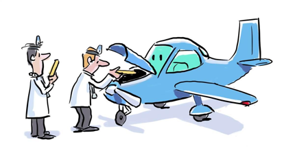 Image result for cartoon mechanic image airplane